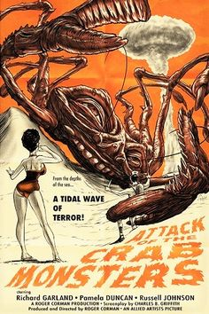 ATTACK OF THE CRAB MONSTERS (1958)