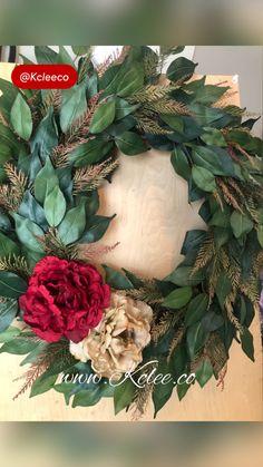Wreath Crafts, Wreath Ideas, Diy Wreath, Diy Crafts, Wreaths And Garlands, Winter Wreaths, Summer Wreath, Cushion Embroidery, Art And Craft Design