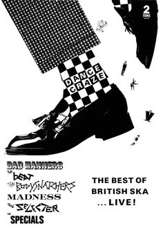 http://picclick.co.uk/Dance-Craze-ska-vinyl-sticker-100mmx33mm-mod-skinhead-112111371982.html