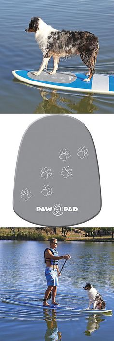 Accessories 177506: Stand Up Paddle Board Sup Deck Pad For Dogs, Pet Surfboard Traction Grip *New*!! -> BUY IT NOW ONLY: $46.99 on eBay!