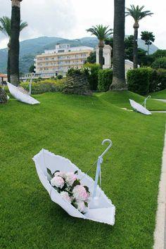 Ombrelli porta fiori
