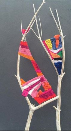 How to use a branch for weaving. How to use a branch for weaving. How to use a branch for weaving. How to use a branch for weaving. Weaving Projects, Weaving Art, Tapestry Weaving, Loom Weaving, Art Projects, Weaving For Kids, Weaving Textiles, Hand Weaving, Yarn Stash