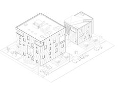 11 Stunning Axonometric Drawings of Iconic Chilean Architecture,Courtesy of Universidad San Sebastián