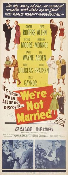 We're Not Married!, 1952.