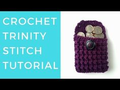 Trinity Stitch Tutorial [Written + Video] | The Blue Elephants