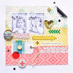 Crate Paper Poolside Collection & Maggie Holmes Confetti Collection