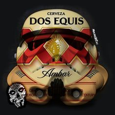 Cerveza Trooper design by mancinasART! Sithfits.com #StarWars #Stormtrooper #Beer #DrinkBeer #SaveWaterDrinkBeer #DosEquis #Cerveza #Lime #Mexico #StayThirstyMyFriends #XX #Sithfits #MillenniumFiendSkull #Mancinas #mancinasART More Beer, Football Season, Starwars, Lime, Mexico, Seasons, Design, Limes, Star Wars