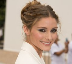 """Olivia Palermo What are three things in your closet that you could never, ever get rid of? """"If I had to choose I'd say an amazing pair of heels, a chic, classic watch, and an impeccably tailored blazer."""""""