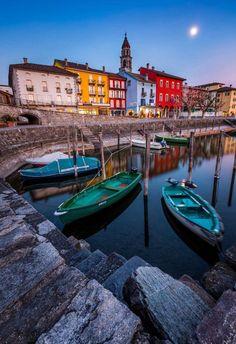 Ascona, Ticino, Switzerland.: