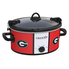 Georgia Bulldogs Collegiate Crock-Pot® Cook  Carry™ Slow Cooker