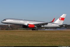 PrivatAir HB-IEE Boeing 757-23A aircraft picture
