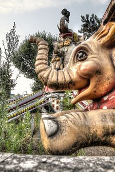 Abandoned amusement park: D-umbo by Paolo Del Rocino on Flickr