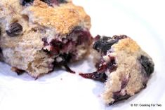 Guilty pleasures – low-fat edition. It has blueberries and whole wheat. Plus it is only 200 calories and just under 3 grams of fat.