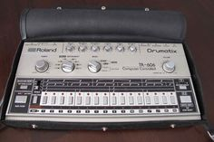 MATRIXSYNTH: Roland TR-606 Drumatix Analog Drum Machine with Or...
