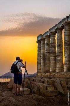 Temple of Poseidon, Cape Sounio, Greece