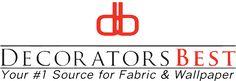 DecoratorsBest, online fabric, wallpaper, rug store. Source for Bump cloth.