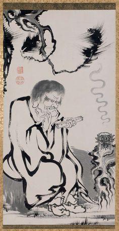 Rakan. Ito Jakuchu. 18th century. Japan. MFA. Boston.