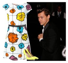 """""""Event with Harry Styles"""" by niallhoranloveraustralia ❤ liked on Polyvore featuring James Bond 007, Moschino and Valentino"""