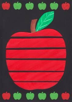 Jablíčka a hrušky – rozsouvání tvarů Preschool Apple Activities, Preschool Art Projects, Classroom Crafts, Autumn Activities, Preschool Crafts, Fall Crafts For Kids, Art For Kids, Apple Art Projects, September Crafts