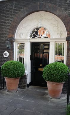 Frame the entrance to your property with some lush looking topiary. To ensure it looks at its best all year round opt for artificial alternatives. View our range here