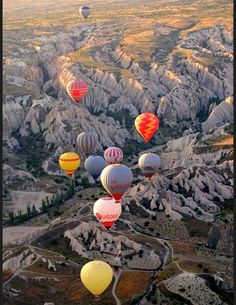 Les destinations les plus spectaculaires du monde - Valle de Goreme Turquie