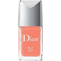 Dior Vernis Gel Shine & Long Wear Nail Lacquer ($27) ❤ liked on Polyvore featuring beauty products, nail care, nail polish, nails, beauty, makeup, cosmetics, fillers, milly and christian dior
