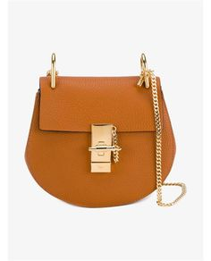 67bceacc4eee CHLOÉ Mini Drew Leather Bag.  chloé  bags  shoulder bags  lining  denim   suede