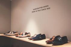 Henderson Baracco - Massimo Bonini Showroom Via Montenapoleone, 2 Milano, Italy.