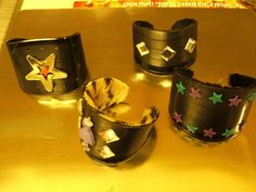 Vinyl Record Cuffs and links to other bracelet tutorials