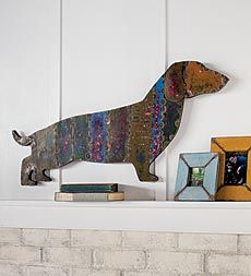 recycled-metal-dachshund-wall-hanging
