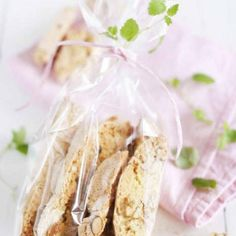 Biscotti med citronmeliss