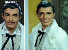 Rhett Butler Gone With The Wind doll repaint by noeling.deviantart.com on @deviantART