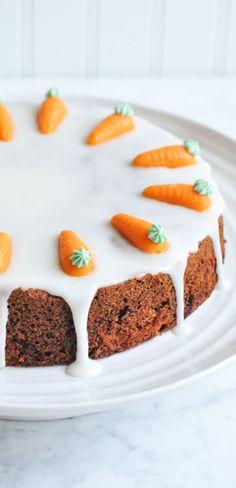 Carrot Cake with Lemon Frosting | http://eatlittlebird.com
