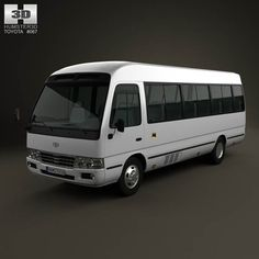 Toyota Coaster B50 2012 3d model from humster3d.com. Price: $75