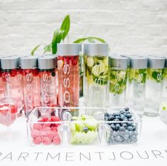 Cucumber, Mint & Lemon OR Raspberry, Blueberry & Lime? #PickOne Our #DIY…