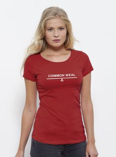 Image of Common Weal Logo Ladies Shirt