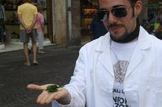 L'ospite inatteso di #italy4science a #Pisa