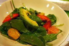 Mrs. Paleo: Citrus Spinach Salad