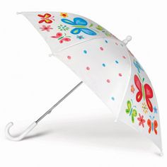For creative kids why not let them Paint their Own Umbrella - how amazing?