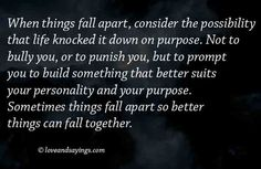 When-Things-Fall-Apart  No rescue this time....Just You and God