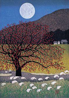 Rising Moon by Kazuyuki Ohtsu