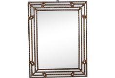 1960s Giltwood Italian Mirror on OneKingsLane.com