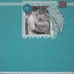 Wedding scrapbook sign-in pages