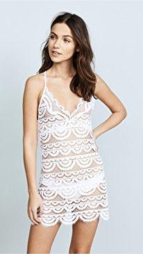 d836c2ed2a Hunza G Crinkle Iconic Mini Beach Dress - White /blue | Beach ...
