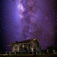 Purple starry night at Lockyer valley, #thisisqueensland #instagram photo by @simondiete