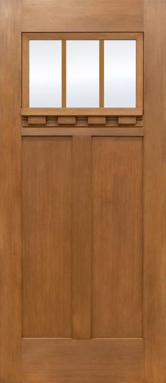 3068 Craftsman w/ Dentil Shelf  (Stain Grade) *also available in Painted*