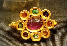Roman-British ring, 4th century