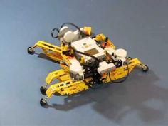 Lego hexapod