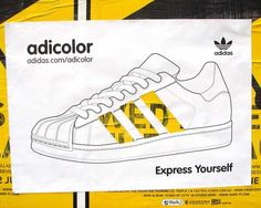 Adidas: Adicolor Yellow