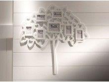 Porta Retrato Árvore Genealógica Branca P AP014